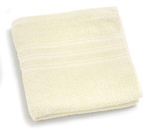 Brisača Decoris, umazano bela, 50x100cm