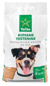 Testenine Tačko za pse, predkuhane, 3kg