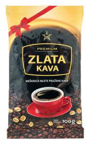 Kava Tuš Zlata, Premium, mleta, 100g