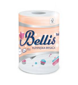 Papirnate brisače Belliss, kuhinjske, 150l, 2sl.