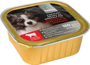 Hrana za pse, Tačko pašteta pre., govedina, test. korenje, 150g