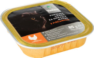 Hrana za mačke, Tačka pašteta premium piščanec, 85g