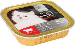 Hrana za mačke, Tačka pašteta premium govedina, 85g