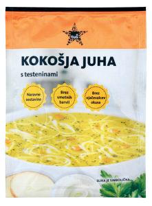 Juha Tuš kokošja z testeninami, 60g