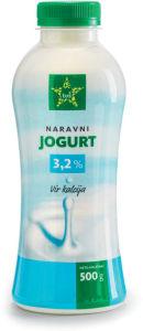 Jogurt Tuš naravni, 3,2 % m.m., 500 g