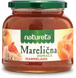 Domača marmelada Naturete, marelica, 650g