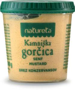 Kamniška gorčica Natureta, 140 g