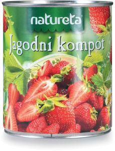 Kompot jagoda, 840g