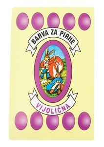 Barva za jajca, vijoličasta