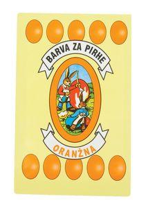 Barva za jajca, oranžna