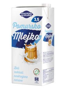 Mleko Pomursko, 3,5% m.m., 1l