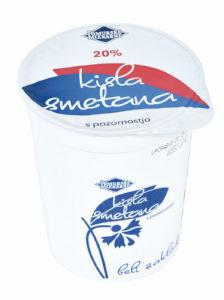 Kisla smetana Pom.mlekarne, 850g