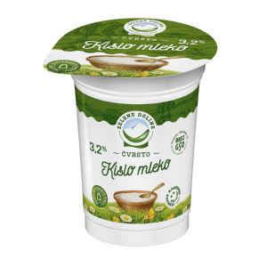 Kislo mleko Zelene doline, 3,2% m.m.,180g