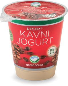 Jogurt Mlekarna Celeia, kava, 150g