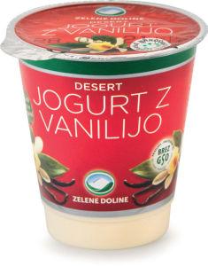 Jogurt Zelene dol., vanilija, 150g