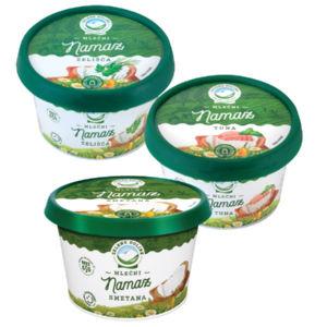 Mlečni namaz Zelene doline, več okusov, 150g