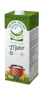 Trajno mleko Zelene Doline, 1,5% m.m., 1l