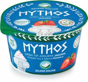 Jogurt Mythosi, jagoda, 8,2%m.m., 150g