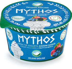 Jogurt Mythos, gozd.sadeži,8,2m.m.,150g