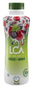Jogurt LCA, tek., grozdje in aronija, 1,1 % m.m., 500 g