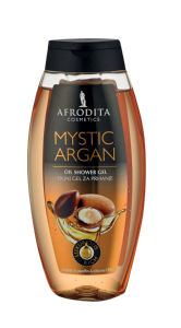 Tuš gel Afrodita, mistic argan, 250ml