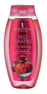 Tuš gel Afrodita, Red grapes, 250ml