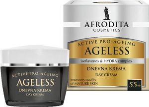 Krema za obraz proti gubicam Afrodita, Ageless Dnevna krema 55+, 50 ml