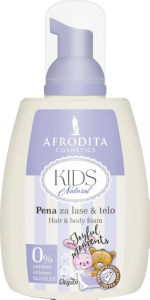 Pena za lase&telo Kids, natural, 190ml