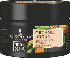 Balzam za telo 100SPA, organic argan, 200ml