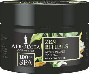 Piling Afrodita za telo, 100 Spa Zen rituals-riž, 200ml