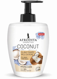 Milo tekoče Afrodita, Coconut, 300 ml