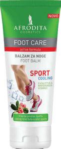 Balzam za noge Afrodita, Foot care Sport, 100 ml