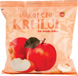 Krhlji Vitasan, jabolčni, lupljeni, 200 g