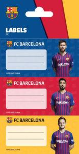 Etiketa Barcelona za zvezek
