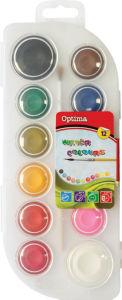 Barvice vodene Optima max, 12x30mm