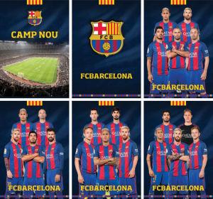 Zvezek A4 Barcelona, črte, 54 list
