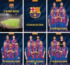 Zvezek A4 Barcelona, karo, 54 list