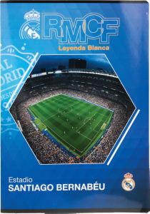 Zvezek A4 Real Madrid, karo, 54 list.