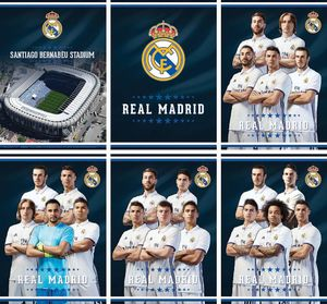 Zvezek A4 Real Madrid, bel, 54 list.