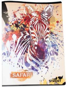 Zvezek A4 safari Bi, 54 list