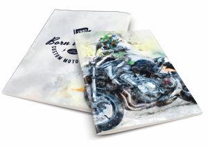 Zvezek A4 črte motocross