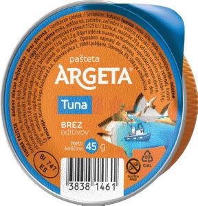 Pašteta Argeta, tunina, 45 g