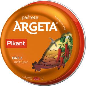 Pašteta Argeta, kokošja, pikant, 95g