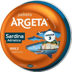 Pašteta Sardine Adriatica, 95g