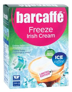 Cappuccino Barcaffe, freeze irish cream, 144g