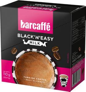 Kava Barcaffe Black'n'easy, mleko, 110g