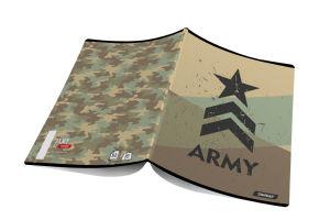 Zvezek A4 črte Target, army, 26871