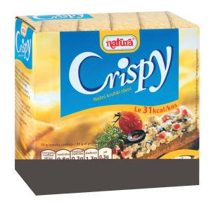 Kruhki Crispy, rženi, 160g