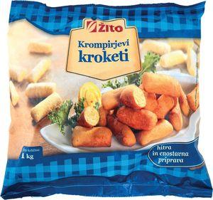 Krompirjevi kroketi Žito, zamrznjeno, 1kg