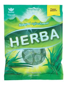 Bonboni Herba, evkalipta, 90 g